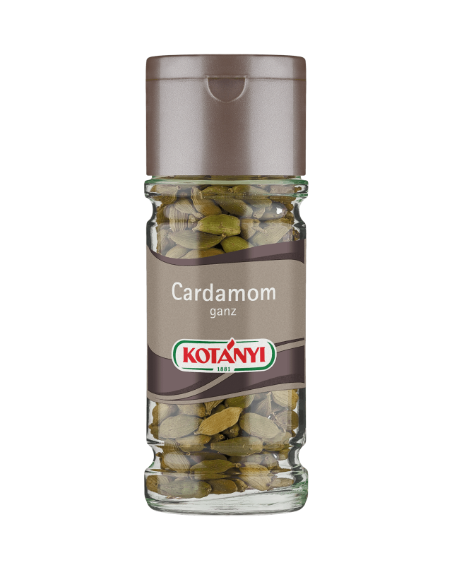 Kotányi Cardamom ganz im Glas