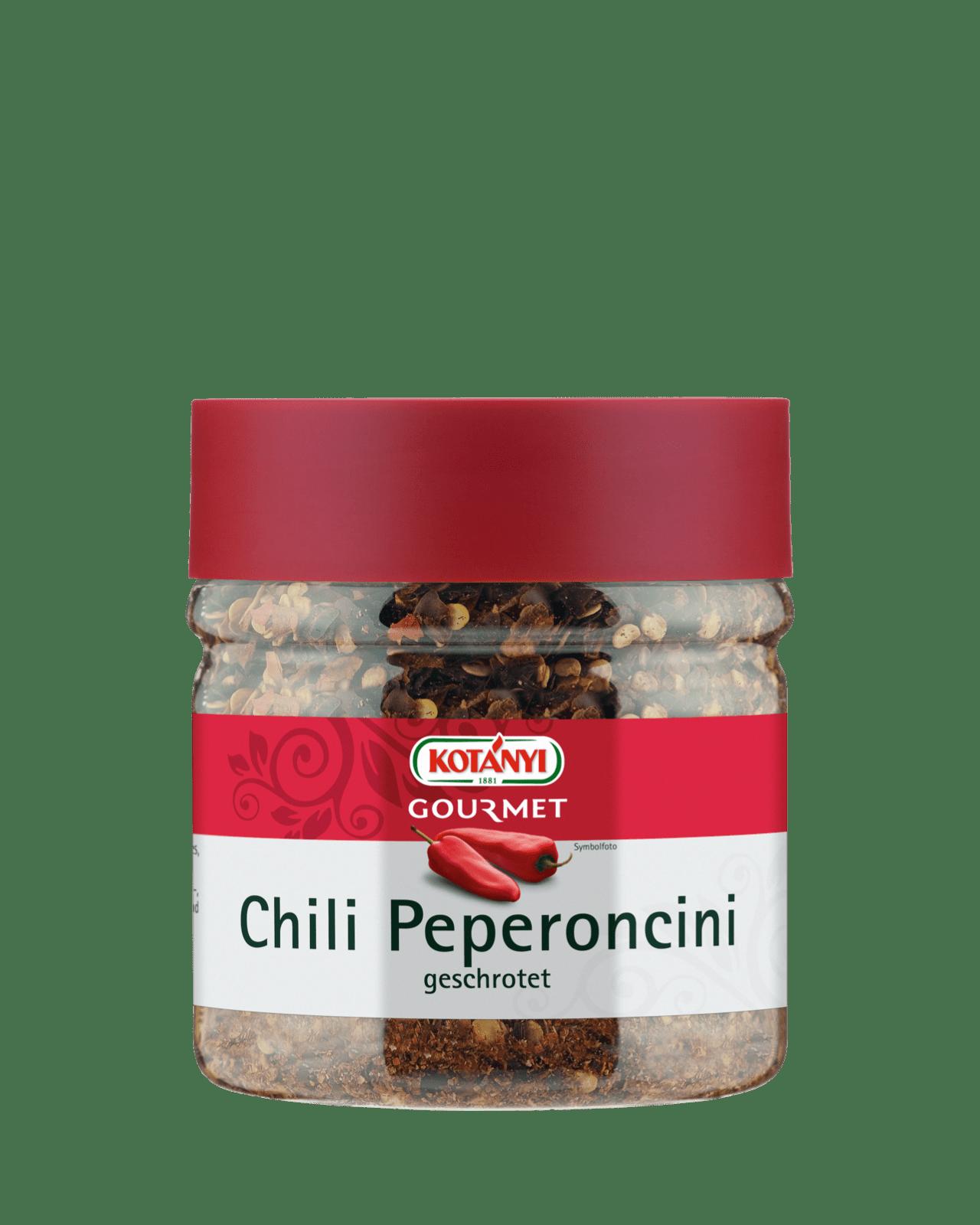 Kotányi Gourmet Chili Peperoncini in der 400ccm Dose