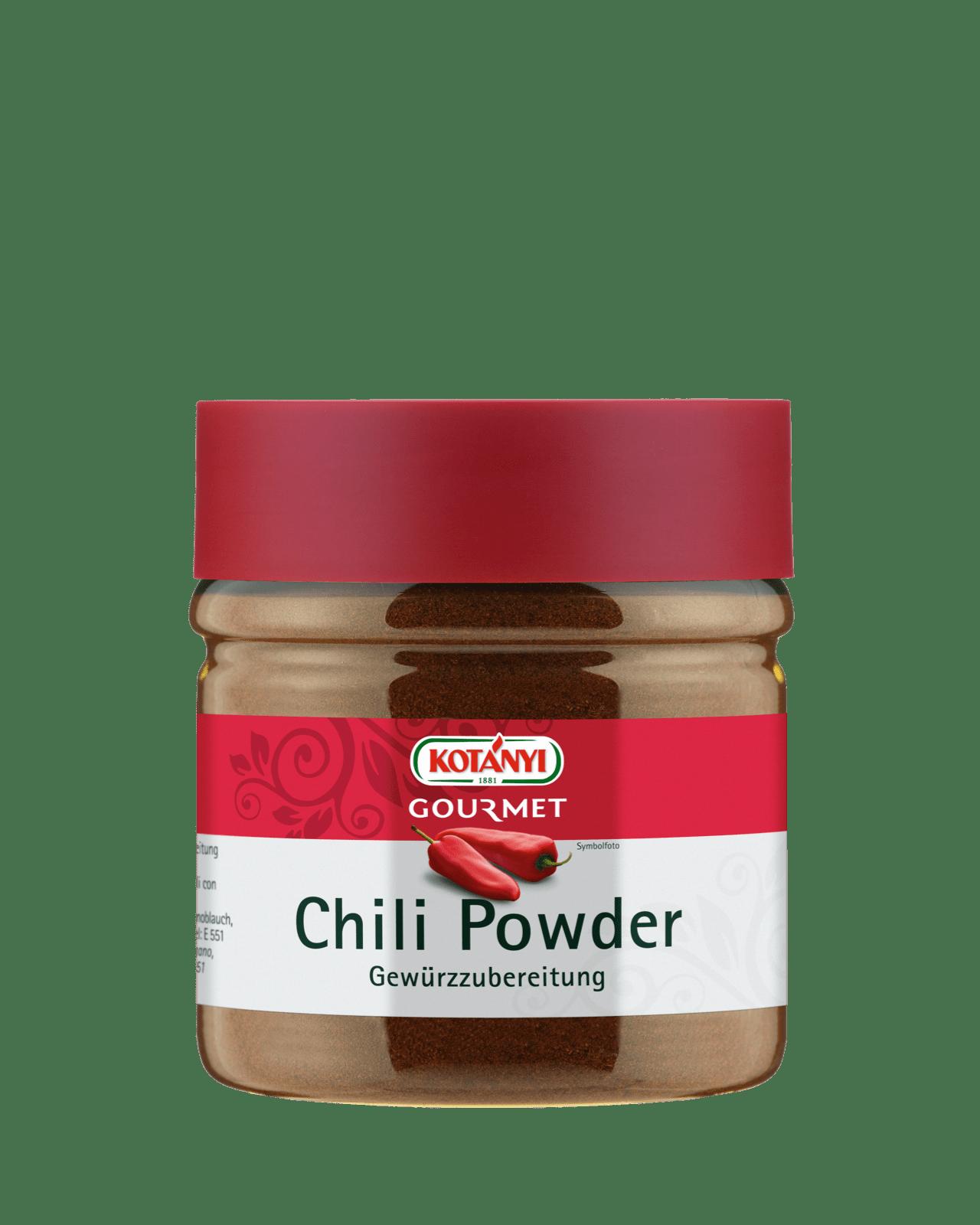 Kotányi Gourmet Chili Powder in der 400ccm Dose