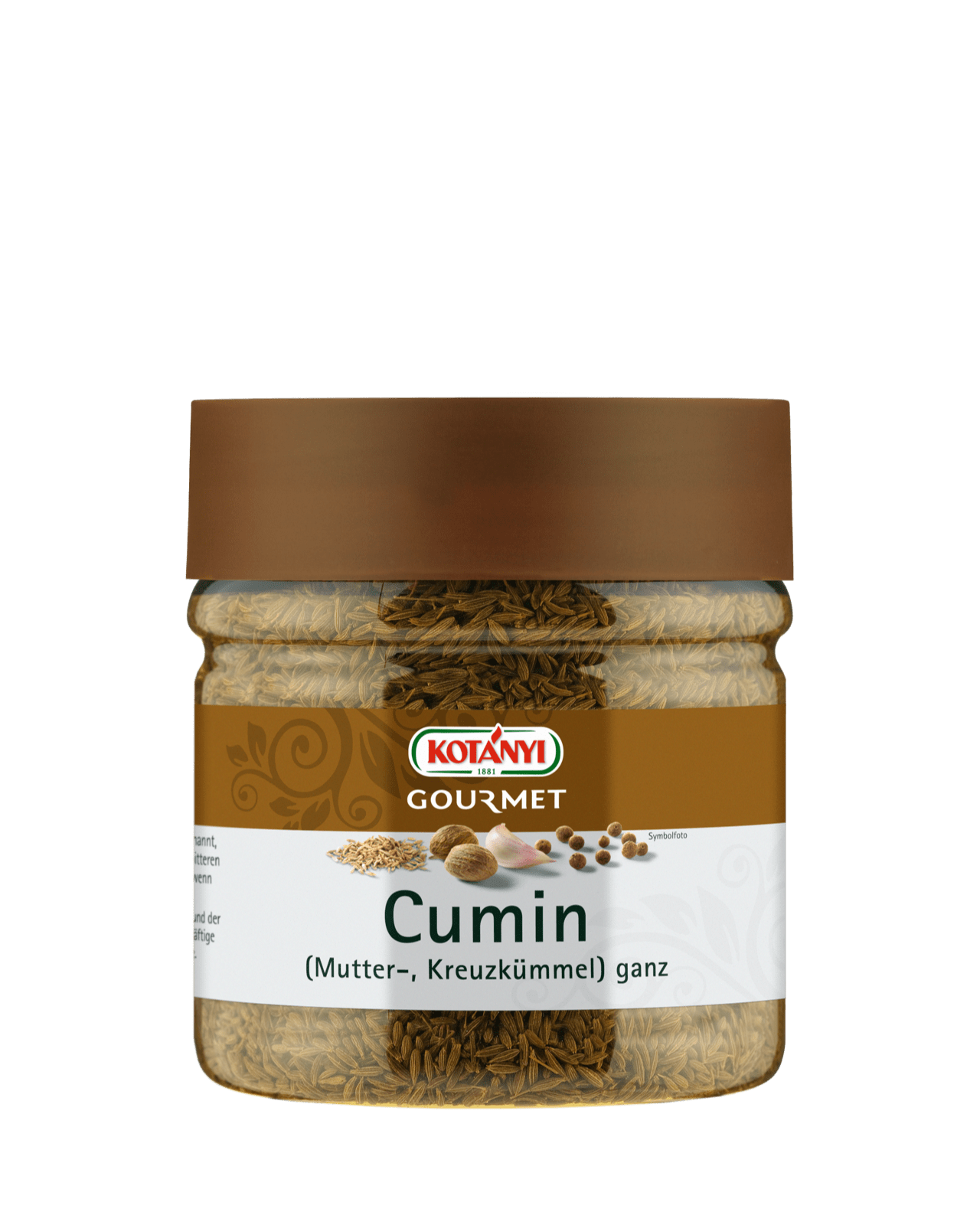 Kotányi Gourmet Cumin Kreuzkümmel ganz in der 400ccm Dose