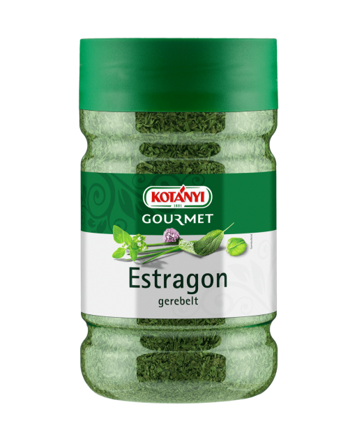 Kotányi Gourmet Estragon gerebelt in der 1200ccm Dose