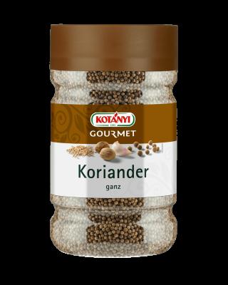 Kotányi Gourmet Koriander ganz in der 1200ccm Dose