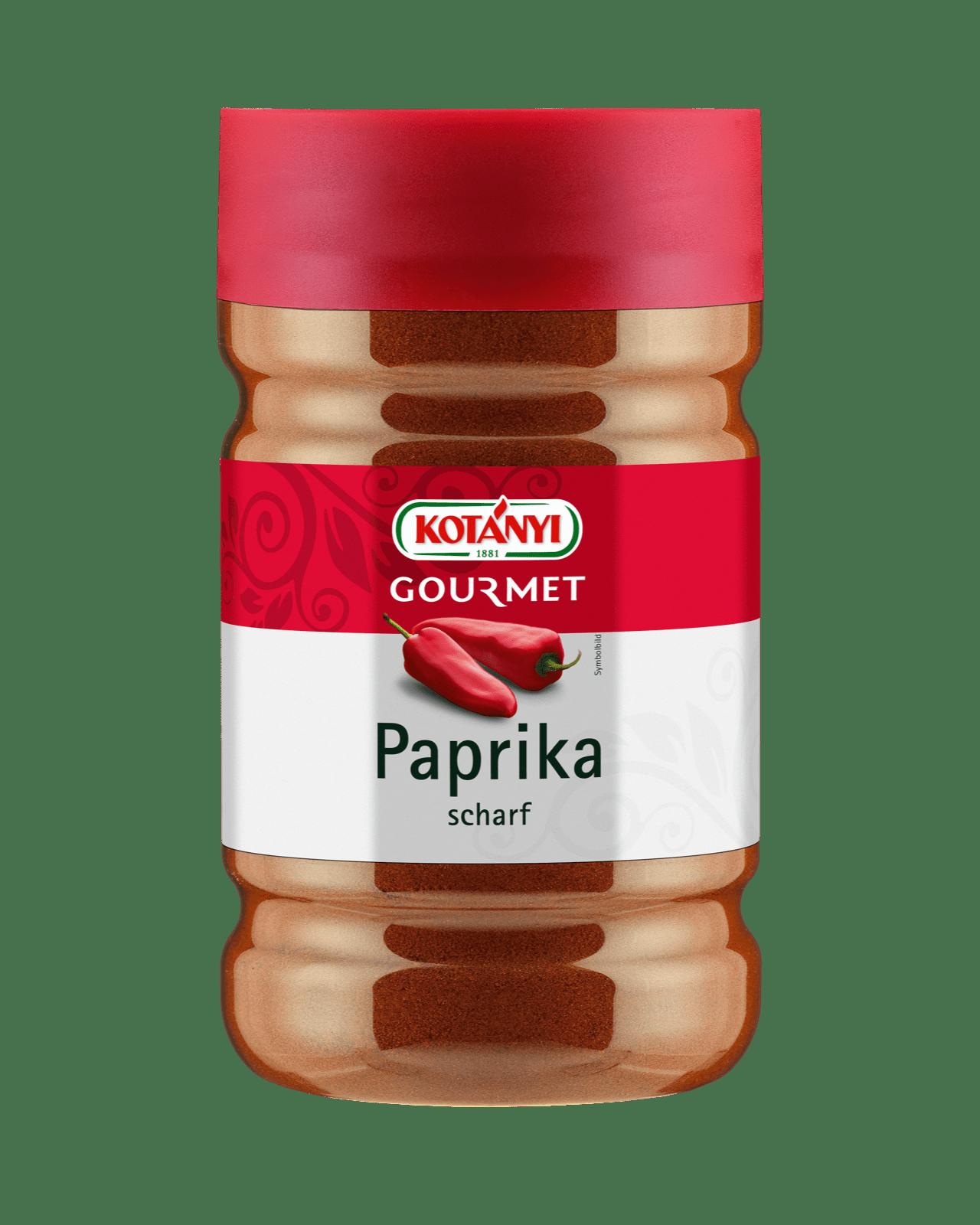 Kotányi Gourmet Paprika scharf in der 1200ccm Dose