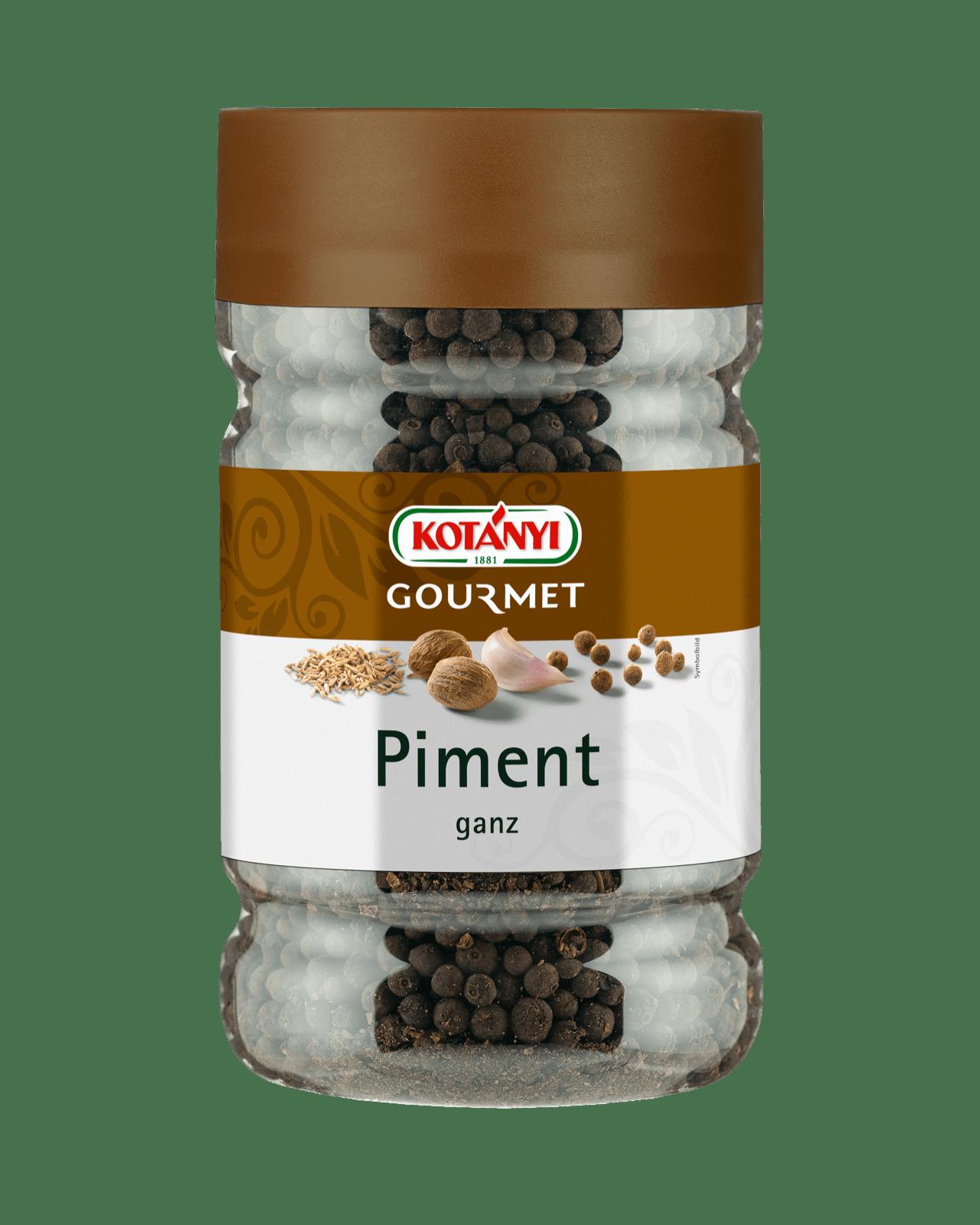 Kotányi Gourmet Piment ganz in der 1200ccm Dose