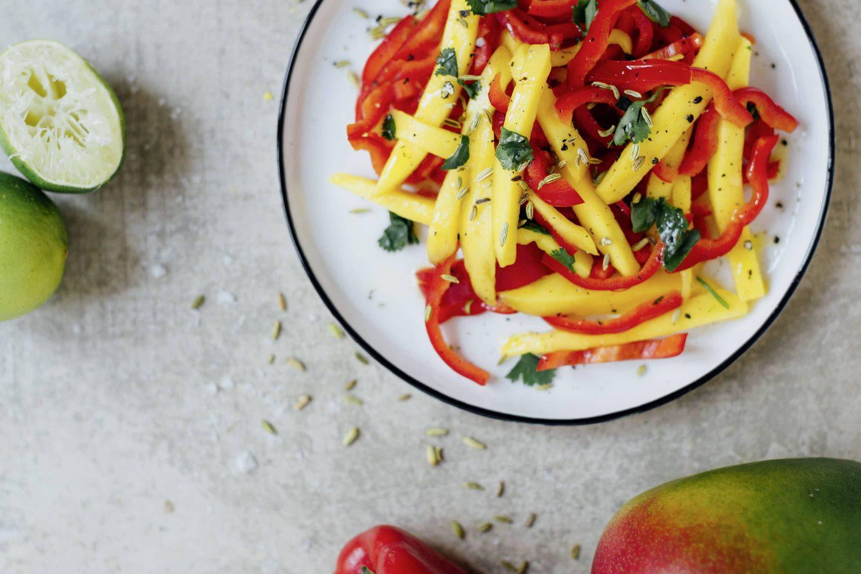 Fenchel-Mango-Salat Kotányi