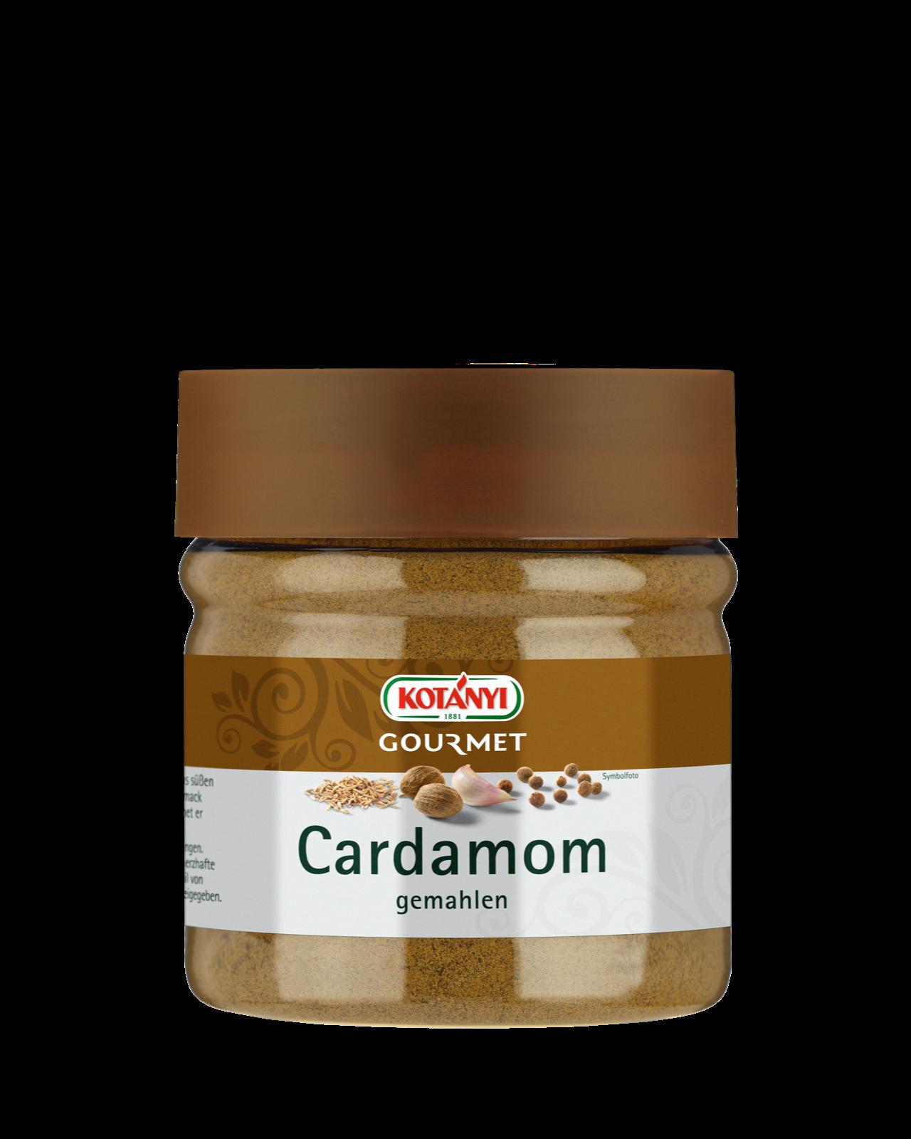 Kotanyi Gourmet Cardamom Gemahlen in 400ccm Dose