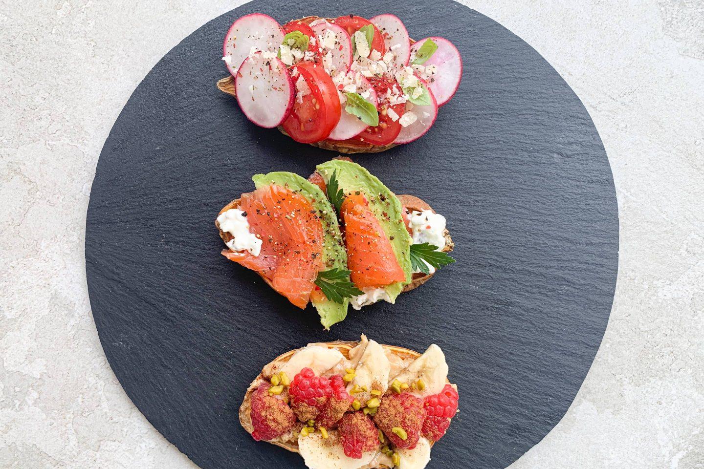 Sweet Potato Toasts Website