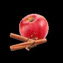 Apfel, Zimtstangen und Nelken