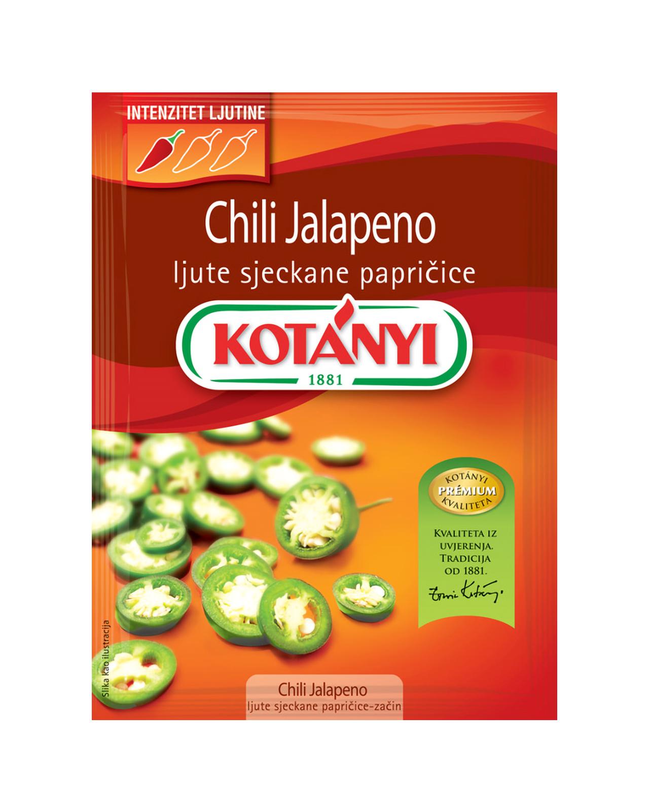 1152082 Kotanyi Chilli Jalapeno B2c Pouch