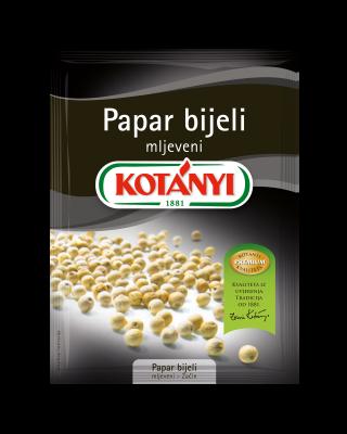 154808 Kotanyi Papar Bijeli Mljeveni B2b Pouch