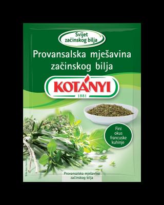 158608 Kotanyi Provansalska Mjesavina Zacina B2c Pouch