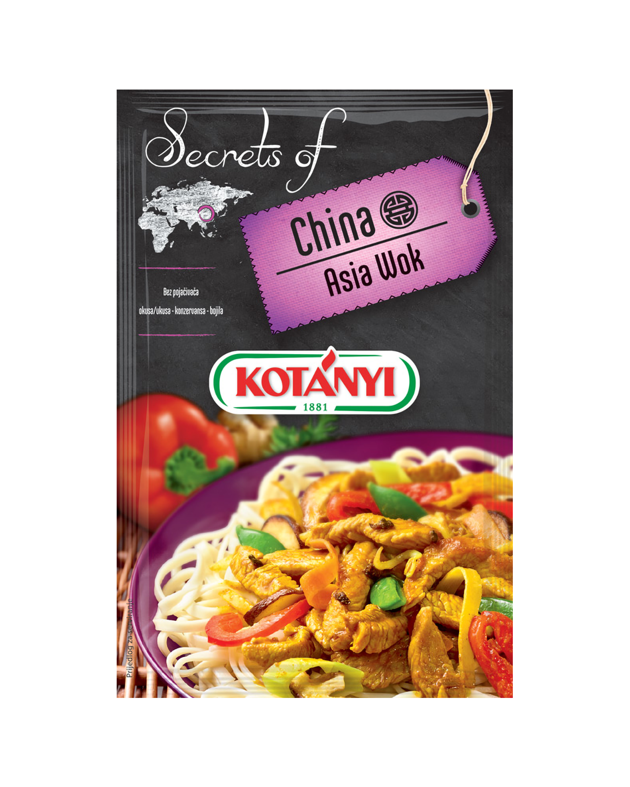 344308 Kotany Secrets Of China Asia Wok B2c Pouch
