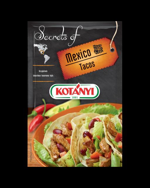 349908 Kotanyi Secrets Of Mexico Tacos B2c Pouch