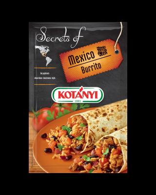 350008 Kotanyi Secrets Of Mexico Burrito B2c Pouch