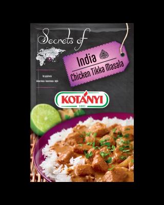 354908 Kotanyi Secrets Of India Chicken Tika Masala B2c Pouch