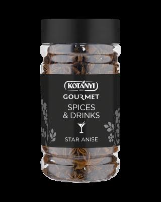 71430801 Kotanyi Spices And Drinks Zvjezdasti Anis B2b Jar 800ccm