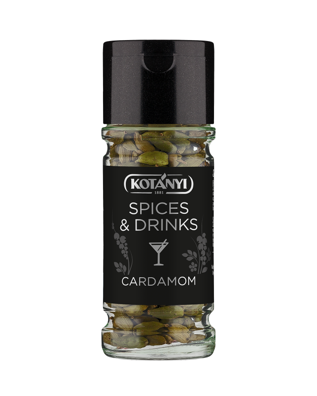 40940801 Kotanyi Spices And Drinks Cardamom B2c Glass