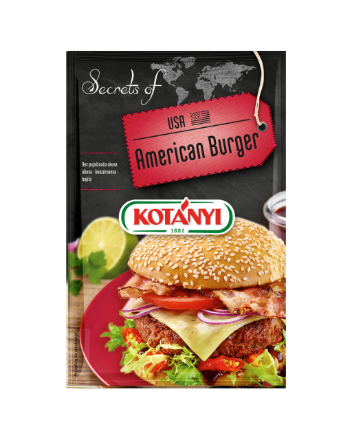 3564085 Secrets Of Usa American Burger Hr
