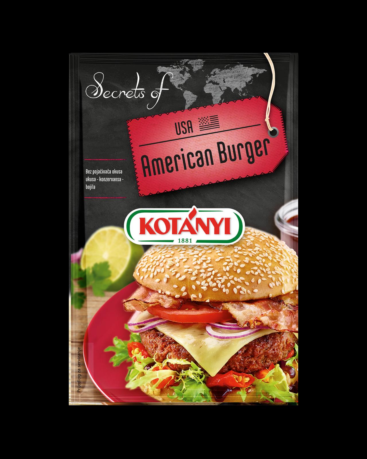 3564085 Secrets Of Usa American Burger Hr