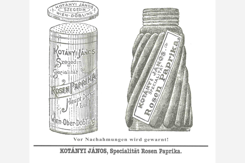 Doza za posipanje paprike Kotányi iz 1900.