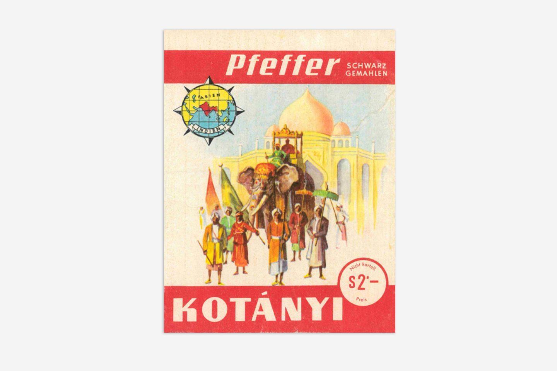 Vrećica s paprom Kotányi.