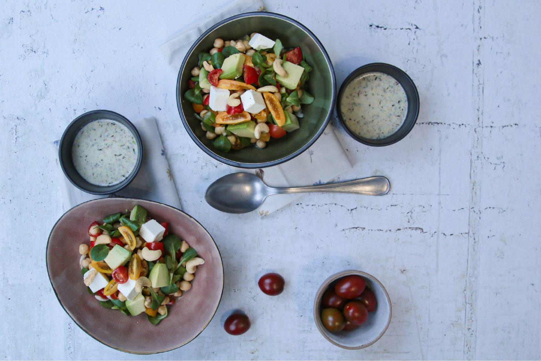Egzotična Salata Sa Slanutkom