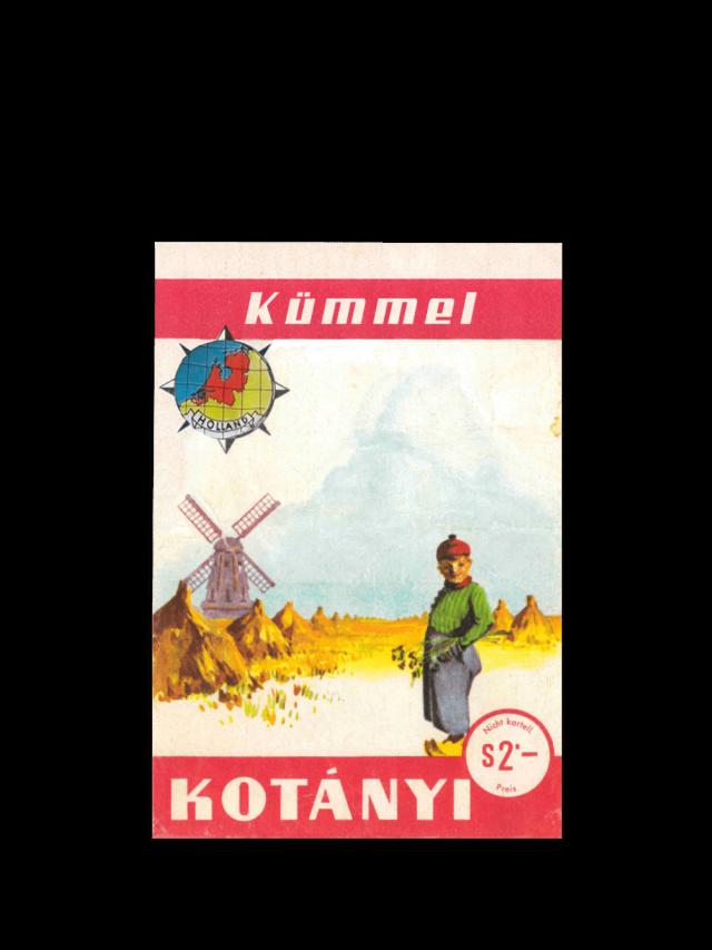 Vrećica kima Kotányi iz 1961.