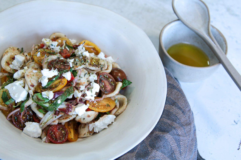 Tomato Pasta Salata