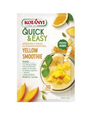 3582085 Kotanyi Quick And Easy Mango Banana Smoothie B2c Hr