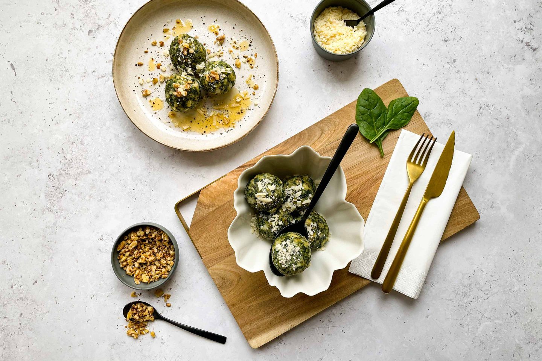 Spinach Dumplings Website