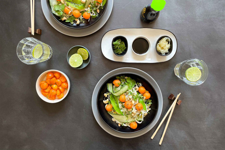 Udon Noodle Salad Website