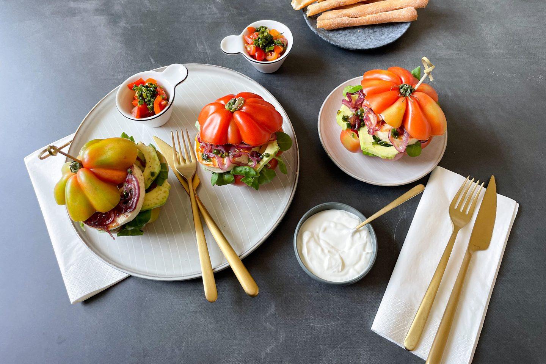 Tomato Burger Website