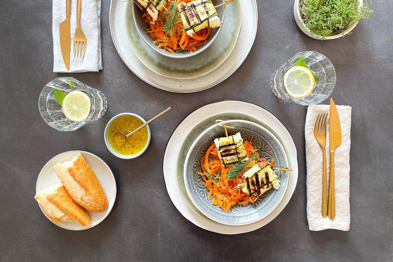 Zucchini Packed Feta Website