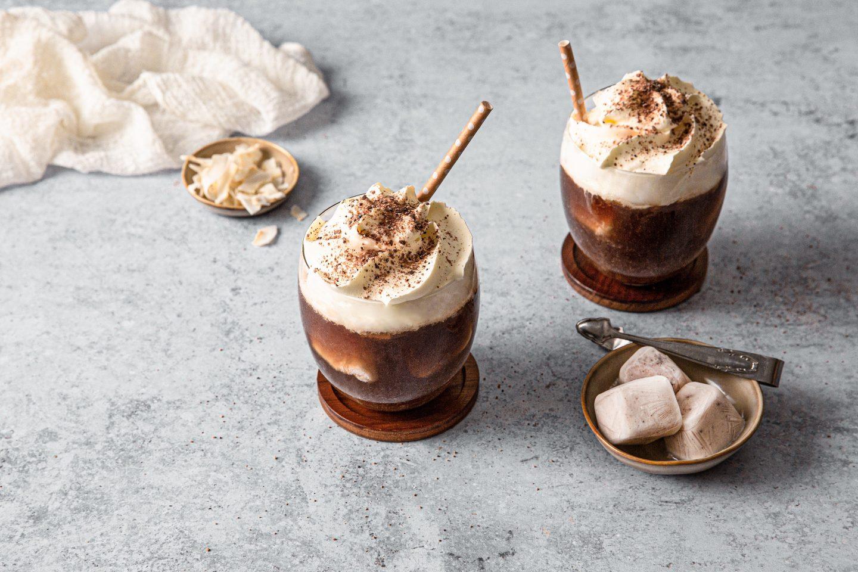 Iced Cinnamon Cocos Coffee
